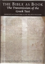 The Bible As Book: The Transmission of the Greek Text