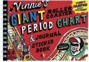 Vinnie's Giant Roller Coaster Period Chart & Journal Sticker Book