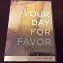 Your Day For Favor - Joel Osteen 3 message cd/dvd set