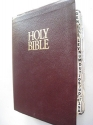 The Open Bible New King James Version Burgundy Leather #2455BG