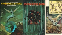 Madeleine L'Engle's Time Trilogy: A Wind in the Door; A Swiftly Tilting Planet; A Wrinkle in Time