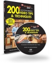 200+ Woodworking Video Tips & Techniques