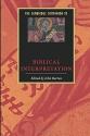 The Cambridge Companion to Biblical Interpretation (Cambridge Companions to Religion)