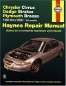 Chrysler Cirrus, Dodge Stratus, Plymouth Breeze, 1995-2000 (Haynes Manuals)