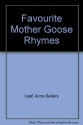 Book of Favorite Mother Goose Rhymes