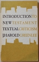 An Introduction to New Testament Criticism
