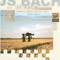 Bach: Cello Suites, Sonatas & Partitas for Solo Violin - Christian Tetzlaff & Ralph Kirshbaum  (4 CD's)