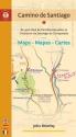 Camino de Santiago Maps / Mapas / Cartes: St. Jean Pied de Port/Roncesvalles to Finisterre via Santiago de Compostela (Camino Guides)