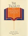 The Talmud, The Steinsaltz Edition, Volume 18: Tractate Sanhedrin Part IV