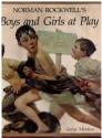 Norman Rockwell's Boys and Girls at Play