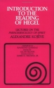 Introduction to the Reading of Hegel: Lectures on the Phenomenology of Spirit