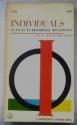 Individuals An Essay in Descriptive Metaphysics