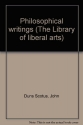 Philosophical Writings (The Library of liberal arts)