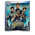 BLACK PANTHER BLU-RAY MARVEL STUDIOS WITH DISNEY MOVIE REWARDS  2018