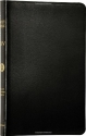 Holy Bible: English Standard Version (ESV) (Thinline Black Bonded Leather edition)
