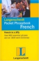 Langenscheidt Pocket Phrasebook French: With Travel Dictionary and Grammar (Langenscheidt Pocket Phrasebooks) (French Edition)