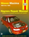 Nissan Maxima: 1993-1999 (Haynes Repair Manual)