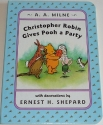 Christopher Robin Give Pooh Bear a Party
