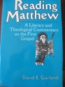 Reading Matthew: A Literary and Theological Commentary on the First Gospel (Reading the New Testament)
