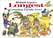 Richard Scarry's Longest Counting Parade Ever!: 8 Feet of Foldout Fun! (Richard Scarry's Best Books Ever!)