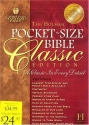 Holman CSB Pocket-Size Bible Classic Edition - Burgundy