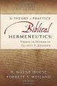 The Theory and Practice of Biblical Hermeneutics