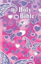 Holy Bible: International Children's Bible, Soft Touch Angel Wings and Hearts