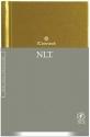 iConnect, Compact Khaki Hardcover (Holy Bible, New Living Translation)