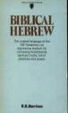 Biblical Hebrew (Teach Yourself Books)