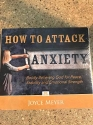 HOW TO ATACK ANXIETY AUDIO CD JOYCE MEYER