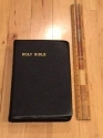 Holy Bible Personal Size Cambridge KJV (Genuine French Morocco Leather)