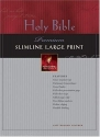 Premium Slimline Bible Large Print: NLT1