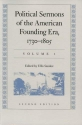 Political Sermons of the American Founding Era, 1730-1805v. 1