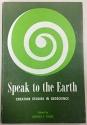Speak to the Earth: Creation Studies in Geoscience