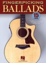 Fingerpicking Ballads: 15 Songs Arranged for Solo Guitar in Standard Notation and Tab