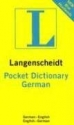 Pocket German Dictionary: German-English / English-German: In The New German Spelling (Langenscheidt Pocket Dictionaries)
