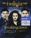 The Twilight Saga: Breaking Dawn, Parts 1 & 2  (Blu-ray + Digital Copy + Ultraviolet)