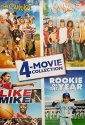 Sandlot / Sandlot 2 / Like Mike / Rookie of the Year 4-Movie Collection DVD