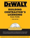 DEWALT Building Contractor's Licensing Exam Guide (DEWALT Series)