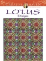 Creative Haven Lotus Designs Coloring Book (Creative Haven Coloring Books)