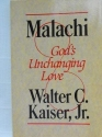 Malachi: God's unchanging love