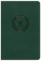 CSB Military Bible, Green LeatherTouch