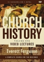 Church History, Volume One Video Lectures: From Christ to the Pre-Reformation