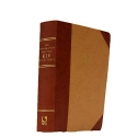 Leather-Like Two-Tone (Tan/Burgundy): The Reformation Heritage KJV Study Bible
