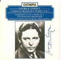 Enescu: Complete Orchestral Works, Vol. 2 - Symphony No. 2 in A Major, Op. 17, Two Romanian Rhapsodies