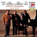 Brahms: The Piano Quartets, Opp. 25, 26 & 60
