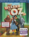 The Wizard of Oz - 75th Anniversary Edition [BLU-RAY 3D - BLU-RAY - DVD]