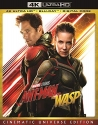 Ant Man and the Wasp (4-K blu ray)