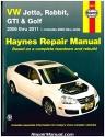 H96019 Haynes VW Golf GTI Jetta Rabbit 2006-2011 Auto Repair Manual