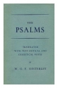 The Psalms / Translated with Text-Critical and Exegetical Notes, by W. O. E. Oesterley